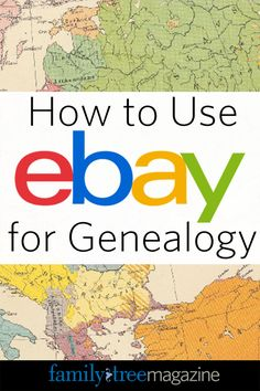 How to Use eBay for Genealogy| #genealogy #familytree #GenealogyandTechnology