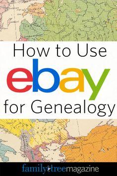 How to Use eBay for Genealogy  #genealogy #familytree #GenealogyandTechnology