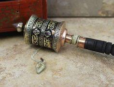 Dorje prayer wheel