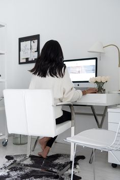 Office Reveal with blogger Not Your Standard #interior #decor