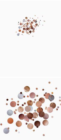 Kelly Kristin Jones - Collages of skin tones from popular women's magazines