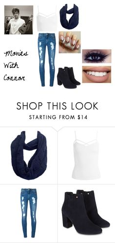 """Movies With Connor"" by hey-mate on Polyvore featuring Kate Marie, Sans Souci, Tommy Hilfiger, Monsoon and Bow & Arrow"