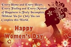 Women's Day Quotes wishes