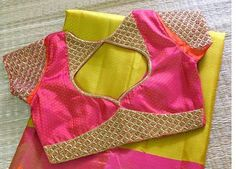 Elegant Designer Fancy Sari Blouse Designs - The Handmade Crafts Kids Blouse Designs, Simple Blouse Designs, Stylish Blouse Design, Sari Blouse Designs, Designer Blouse Patterns, Air Jordan 3, Saris, Nike Zoom, Damen Sweatshirts