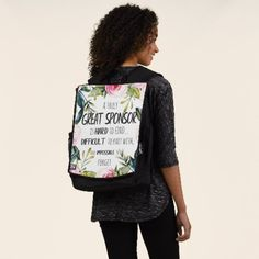 Confirmation Sponsor Gift Truly Great sponsor Backpack wedding present ideas diy, wedding inspo, wedding rehearsals #weddingday #weddinggown #weddinghair, christmas decorations, thanksgiving games for family fun, diy christmas decorations