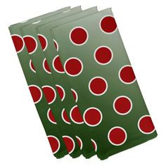 E by Design Jump for Joy Holiday Bubbly Geometric Pattern Napkin - Set of 4 - N4HGN710BL34RE6