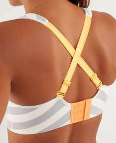 """Ta Ta Tamer II - lululemon. """"This little number was designed to keep our ladies on lockdown when we're running our hearts out. With crossable straps and hook and eye closure, it's fully adjustable so we can cater to our comfort."""""""