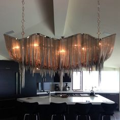 (1180.00$)  Buy here - http://aivo0.worlditems.win/all/product.php?id=32733178899 - Atlantis Pendant Suspension Light - Long by Barlas Baylar from Terzani Lighting Fixture Hanging Lamp for Living Dining Room