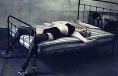 Lara Stone by Steven Klein for Vogue Paris February 2009
