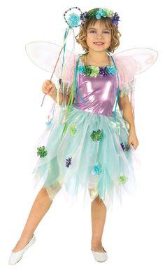 Girl's Garden Fairy Costume