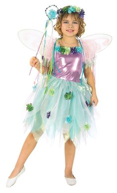 Girl's Garden Fairy Costume