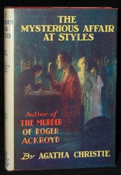 1920 Originally written as the result of a bet, that the author, who had previously never written a book, could not compose a detective novel in which the reader would not be able to 'spot' the murderer. The author certainly won her bet.