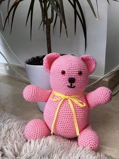 The shown idea is perfect for the baby girl, which she can hold while sleeping. Mostly, girls are sensitive and love to hold a teddy bear while sleeping, so crocheting a bear like the one presented is a unique idea.
