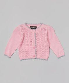 Pink Kristina Cardigan - Infant & Toddler