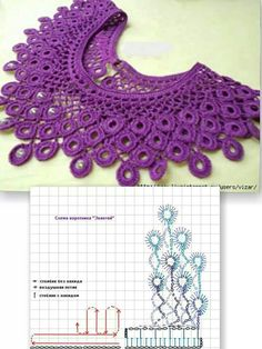 Crochet collar: inspiration