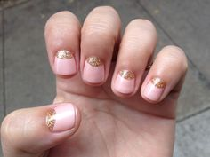 My wedding nails from Valley NYC #manicure #nails
