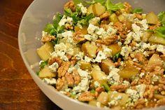 Skorpionin keittiössä: Sinihomejuusto-päärynäsalaatti