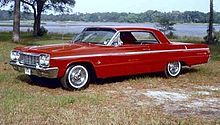 Wow! 1964 Chevy impala Super Sport  4 in the floor, black interior 327 engine