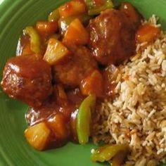 Sweet and Sour Pork Patties - Allrecipes.com