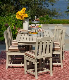 American made outdoor patio furniture at LL Bean