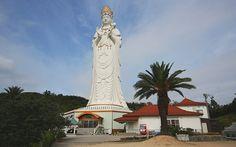 The Shodoshima Great Kannon (Shodoshima Daikannon) is a large white statue depicting Kannon, the Buddhist goddess of mercy