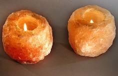 Salt Rock Tea Lights   http://www.spiritualquest.com/