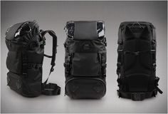 The Deluxe 43L Backpack by Korean brand T-Level boasts 43-liters of capacity, making it perfect for cycling and urban expeditions. The versatile bag is made from the highest quality materials such as Codura and Duraflex, and is packed with many funct