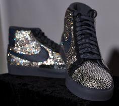 Swarovski Crystal Nike Sneakers