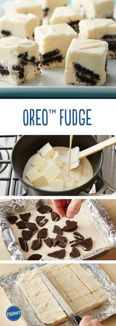 Oreo Fudge: Looking for a delicious dessert? Then check out this delicious nutty candy fudge - ready in just about an hour!