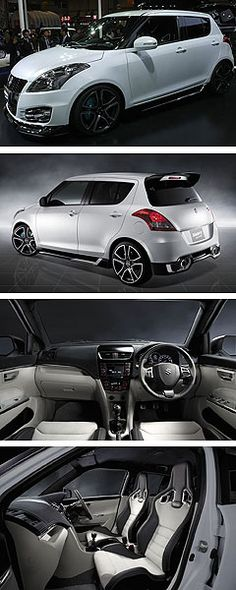 Suzuki Swift Sports - would like one of these eventually! Suzuki Swift Sport, Baby Car Mirror, Cute Cars, Car Tuning, Japanese Cars, Modified Cars, Rally Car, Jdm Cars, Amazing Cars