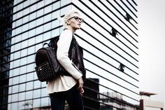 Italian Leather Handbags, Fashion Backpack, Fall Winter