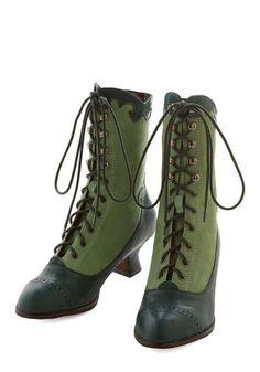 Shop Steampunk Boots for Sale: Victorian Vixen Boot $229.99