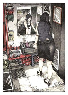Zaya – Magnetic Press Manga Art, Anime Art, Art Sketches, Art Drawings, Character Art, Character Design, Arte Obscura, Funky Art, Dope Art