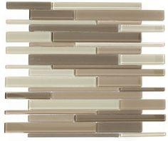 Glazzio Tiles Glass Mosaic Cane Blend Series