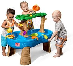 Little Tikes Spiralin' Seas Waterpark Water Table: Toys & Games Toddler Water Table, Water Play For Kids, Kids Play Table, Water Tables For Toddlers, Step 2 Water Table, Kiddie Pool, Sand And Water, Little Tikes, Water Toys