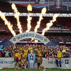 Arsenal fans, how good does it feel to retain the FA Cup?