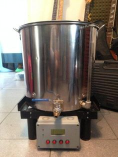 Getting that First Batch of Beer Brewing – Home Beer Brew Beer Brewing, Home Brewing, Beer Maker, Brew Your Own Beer, Brewing Equipment, Brew Pub, Beer Tasting, How To Make Beer, Best Beer