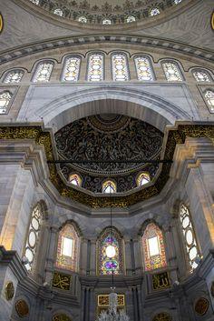 Nuruosmaniye Mosque. Istanbul