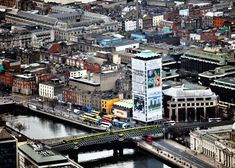 PICS: The Air Corps Have Just Posted Some More Stunning Aerial Shots Of Dublin | LovinDublin Dublin City, Ireland Travel, Stunning View, Big Day, Pop Up, Times Square, Shots, Sky, Life