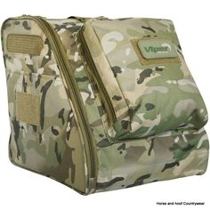Viper Tactical Boot Bag - V-Cam The Viper Tactical Boot Bag is suitable for most boots and is made using 600D Cordura This bag allows the user to