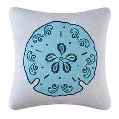 Meridian Waters Sand Dollar Pillow