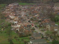 A tornado struck Garland and Rowlett on Saturday, Dec. 26, 2015