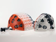 Collapsible Cycling Helmet by Michael Rose