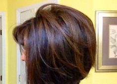 Dark chocolate with lighter brown highlights