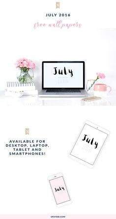 Style your life with our free July 2016 Wallpapers! Download your favorite style for desktop, laptop, tablet or smartphone and enjoy! http://www.spotebi.com/fitness-freebies/july-2016-wallpapers/