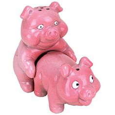 Decoration, Best Buy Salt And Pepper Shakers Big Mouth Toys Naughty Pigs  Salt And Pepper Shaker Set ~ Shining Fancy Salt And Pepper Shakers With  Crystal ...
