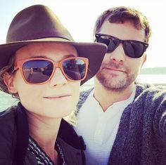 Sweet celebrity couple: Diane Kruger and Joshua Jackson
