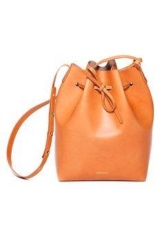 tangerine reminds us of warmer days ahead!  Mansur Gavriel bag