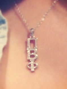 Sparkle Pi Beta Phi necklace #piphi #pibetaphi