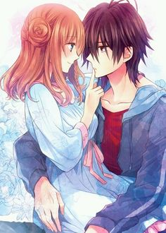 Imagem de amnesia, anime, and couple